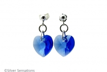 Blue-crystal-heart-earrings