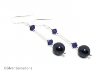 Purple-pearl-earrings-swarovski
