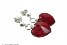Ruby-red-crystal-heart-earrings
